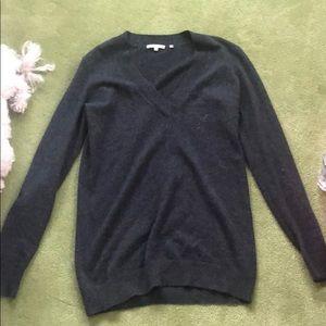 Vince dark gray cashmere sweater